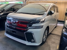 2016 TOYOTA VELLFIRE 2.5 ZA SUNROOF 4 CAMERA POWER BOOT GRADE A CAR UNREG