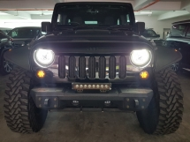 2014 JEEP WRANGLER UNLIMITED SAHARA 4 DOOR ARMY CABIN 3.6 PETROL (UNREG)