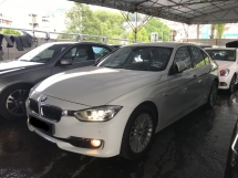 2014 BMW 5 SERIES 320i 2.0 TWIN POWER TURBO LUXURY SPEC WARRANTY TILL 2019 JUNE NO SST