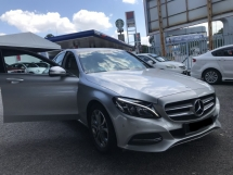 2015 MERCEDES-BENZ C-CLASS C200 CKD WARRANTY TILL 2019 LIKE NEW CAR FUL SERVICE RECORD
