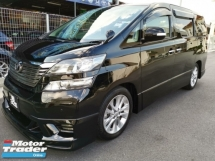 2010 TOYOTA VELLFIRE 2.4Z PLATINUM SELECTION - 2 Power Door , 1 Power Boot & Sunroof / DVD with Reverse Camera