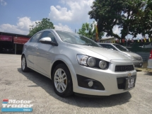 2013 CHEVROLET SONIC 2014 Chevrolet Sonic 1.4 (A) 1 Owner Tip-Top Condition