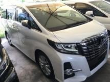 2015 TOYOTA ALPHARD SA MPV SUNROOF JBL SYSTEM PRE CRASH