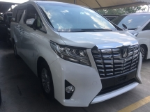 2015 TOYOTA ALPHARD 2.5 X SPEC LARGE MPV FULL VIEW CAMERA POWER BOAT