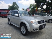 2013 FORD EVEREST 2015 Ford Everest 3.0 XLT (A) 1 Owner Limited Edition
