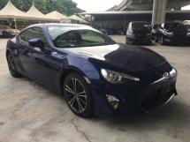 2016 TOYOTA 86 2.0 GT Toyota 86 2.0 GT (M) 6 SPEED CAMERA