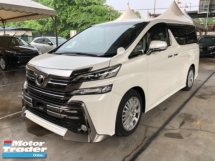 2015 TOYOTA VELLFIRE Unreg Toyota Vellfire ZA 2.5 360view PowerBoot Push Start Keyless Go 7G
