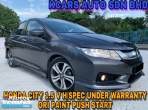 2014 HONDA CITY 1.5 V H/SPEC UNDER WARRANTY ORIGINAL PAINT
