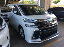 2015 TOYOTA VELLFIRE 2.5 Z A EDITION MPV FULL VIEW CAMERA POWER BOAT 7 SEAT