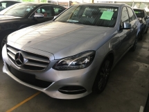 2014 MERCEDES-BENZ E-CLASS E250 AVANTGARDE  2.0 TWIN TURBO UNREG (RM) 174,000.00 Edit Photo