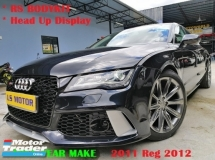 2011 AUDI A7 2.8 V6 FSI SE facelift model -sport back - quattro - head up display - rs7 bodykit - power boot - full service record - leather seat - memory seat - mmi - reverse camera - like new -view to believe -