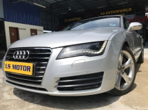2013 AUDI A7 3.0 TFSI V6  QUATTRO SPORTBACK FACELIFT MODEL- BOSE SOUND SYSTEM - POWER BOOT - REVERSE CAMERA - CKD BRAND NEW AUDI MAL - FULL SERVICE RECORD AUDI - FULL LOAN...