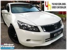 2010 HONDA ACCORD Honda ACCORD 2.0 VTi-L (A) FULL LEATHER SEAT ELECTRIC SEAT