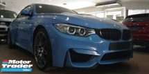2016 BMW M4 3.0 COMPETITION PACK / 100% MILEAGE NO TAPPED / WELCOME VIEW / READY STOCK