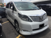 2010 TOYOTA ALPHARD 3.5 GL Full Spec Registered 2014