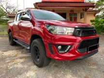 2017 TOYOTA HILUX 2.4G 4WD (M) Full Loan