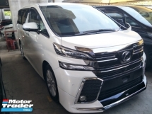 2015 TOYOTA VELLFIRE 2.5 MODELISTA BODYKIT 360 SURROUND CAMERA POWER BOOT DVD PLAYER WITH REAR MONITOR