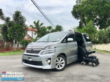 2014 TOYOTA VELLFIRE 2.4 Z WHEELCHAIR PACKAGE