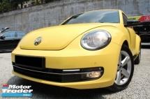 2013 VOLKSWAGEN BEETLE Volkswagen BEETLE 1.4 TSi F/LIFT 7SPEED FulSERVICE