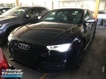 2015 AUDI S5 BLACK EDITION  S5 3.0 TFSI QUATTRO HATCHBACK BLACK EDITION CAMERA B&O SYSTEM