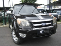 2009 FORD RANGER 2.5 XLT (A) TDCI 4X4 DOUBLE CAB BLACKLISTED CAN LOAN