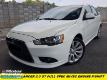 2012 MITSUBISHI LANCER GT  MIVEC P/SHIFT FACELIFT LIMITED SEPC LOW MILEAGE ORIGINAL 18 INCH SPORTRIM