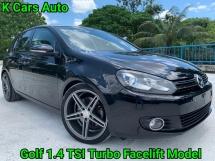 2012 VOLKSWAGEN GOLF 1.4 TSI Turbo MK6 Facelift Good Condition No Modified All Original No Repair Need Worth Buy