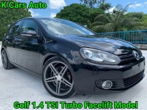 2012 VOLKSWAGEN GOLF 1.4 TSI Turbo MK6 Facelift Good Condition No Modified All Original No Repair Need Worth Buy