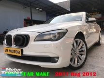 2011 BMW 7 SERIES 740I 3.0 AUTO F02 - HEAD UP DISPLAY - NIGHT VERSION - REAR ENTERTAINMENT - KEYLESS - AUTO SUN BLADE- POWER BOOT - FULL LEATHER - FULL LOAN - RM0 D.PAYMENT....