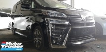 2018 TOYOTA VELLFIRE 2.5 ZG / NEW FACELIFT / SUNROOF / NAPPAL LEATHER / 100% ORIGINAL MILEAGE / READY STOCK