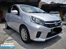 2018 PERODUA AXIA 1.0 (A) RM31800 OTR, full service Perodua