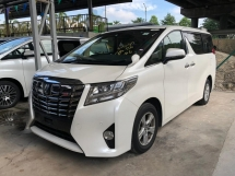 2015 TOYOTA ALPHARD 2.5G 8 SEATER NO HIDDEN CHARGE SST INCLUSIVE