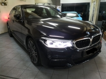 2018 BMW 5 SERIES 530i CKD TRUE YEAR MADE 2018 NO SST New And Latest Model 11k km only Warranty to 2023
