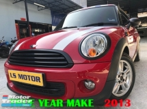 2013 MINI One COUPE 1.6 AUTO - FREE 1YEAR WARRANTY - CKD BRAND NEW - FULL SERVICE RECORD BMW -  4NEW TYRE - 1LADY OWNER - ACC FREE - FULL LOAN - RM0 D.PAYMENT....9YRS TENURE..