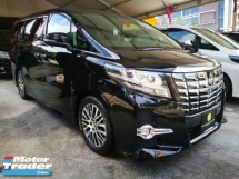 2016 TOYOTA ALPHARD 2.5SC with JBL Home Theater Sound System