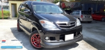 2008 TOYOTA AVANZA 1.5G FACELIFT LEATHER SEAT FULL LOAN