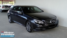 2015 MERCEDES-BENZ E-CLASS E250 2.0 7-Speed Avantgarde Full Model