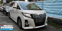 2016 TOYOTA ALPHARD SC 2.5CC / PILOT SEATS / TIPTOP CONDITION FROM JAPAN / READY STOCK / 4 YEARS WARRANTY