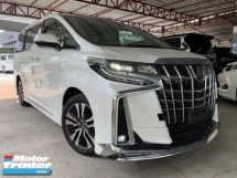 2018 TOYOTA ALPHARD 2.5 SC NEW FACELIFE SUNROOF MODELLISTA FULL LEATHER PRE CRASH PILOT SEATS UNREG