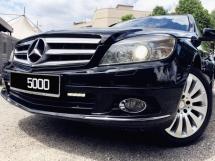 2011 MERCEDES-BENZ C-CLASS Mercedes Benz C200 1.8 CGI BLUE EFFICIENCY ELEGANCE W204 Local
