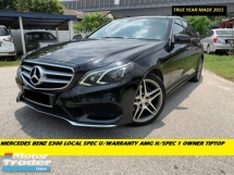 2015 MERCEDES-BENZ E-CLASS E300 TURBO DIESEL HYBRID  ORIGINAL LOW MILEAGE SUNROOF LOCAL SPEC