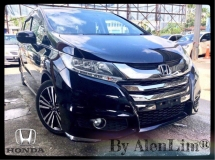 2014 HONDA ODYSSEY Absolute EX 2.4 (UNREG) BLIND SPORT ASS 2 MONITOR 5 STAR CONDITION