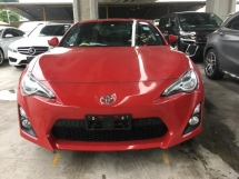 2014 TOYOTA 86 2.0 GT ACTUAL YEAR MAKE SST INCLUSIVE NO HIDDEN CHARGES