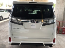 2016 TOYOTA VELLFIRE 2.5 ZG Modelista Edition 360 View Surround Camera Sun Roof Moon Roof Pilot Memory Seat Automatic Power Boot 2 Power Doors Intelligent LED Light Smart Entry Pre Crash 9 Air Bag Unreg