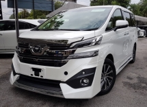 2016 TOYOTA VELLFIRE 2016 Toyota Vellfire 3.5 Executive lounge Full Spec Unregister for sale