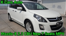 2012 MAZDA 8 2.3 CBU 7 Seat MPV Power Door Pilot Seat Sunroof Power Boot Excellent Condition Worth Buy