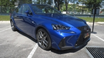 2016 LEXUS IS IS200t TURBO