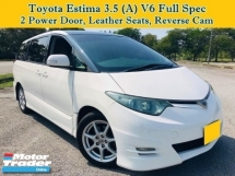 2007 TOYOTA ESTIMA 3.5L (A) Aeras G MPV Sunroof Moonroof Leather Seats Power Door