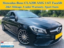 2018 MERCEDES-BENZ CLA 200 Facelift 1.6 (A) AMG Line Full Service Record Under Warranty CLA250