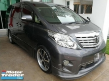 2011 TOYOTA ALPHARD 240S LIMITED